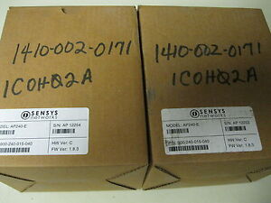 Sensys Ap240 e Access Point With Contact Closure New Original Box And Packaging