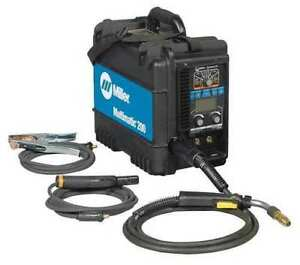 Miller Multimatic 200 Mig Stick Tig Welder