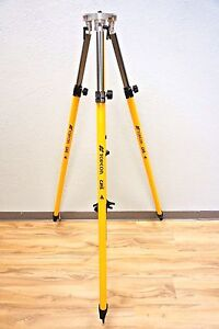 Topcon 2 Meter Fixed Tripod For Mm Gps Base Station Rtk Lazerzone Trimble Leica