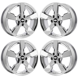17 Chevrolet Volt Pvd Chrome Wheels Rims Factory Oem Set 4 5482 Exchange