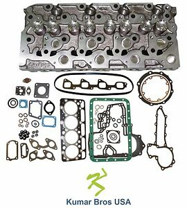 New Kumarbros Usa Bobcat 341 Kubota V2203 complete Cyl Head Full Gasket Set