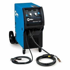 Millermatic 350p Miller Welding Mig And Pulsed Mig Steel And Aluminum Programs