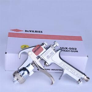 Devilbiss Jgx 502 Spray Gun Gravity Type Up Pot For Paint Car Or Furniture