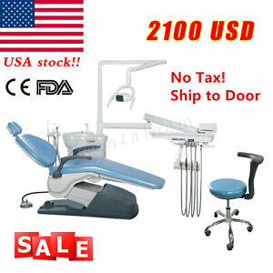 Fda Dental Chair Unit Computer Controlled Hard Leather Electric Dc Motor Tj2688