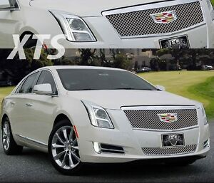 Cadillac Xts E G Chrome Heavy Upper Grille Only 2016 2017 1001 010u 16h