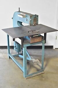 Whitney jensen Model 68 Kick punch Press