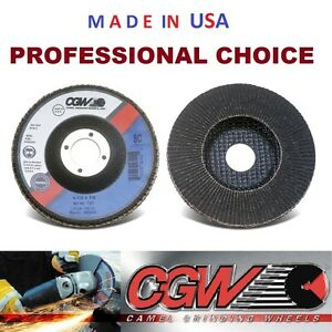 4 1 2 X 7 8 Cgw Silicon Carbide Flap Disc Wheel Choice Of Grit
