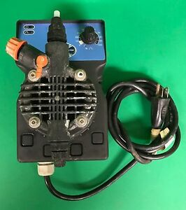 Manually Controlled Dosing Pump Type Dlx Ma a 2 10 1 h bar 110v 1 Amp