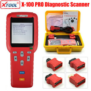 Original Xtool X 100 Pro Auto Programmer Scanner Ecu Code Reader Us Stock