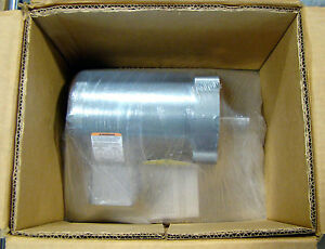 Baldor 1 4hp Electric Motor 1725rpm 230 460v Knm3454
