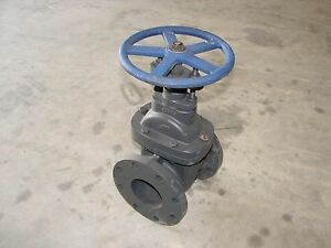 new Nibco Gate Valve 4 Non rising Stem Flange Cast Iron Fig F 619