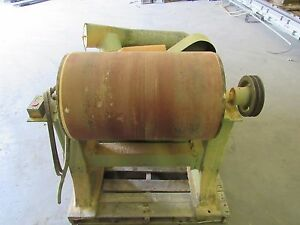Industrial Drum Sander Sanding 25 1 2 w 24 X 16 Dia 5hp we Ship Freight