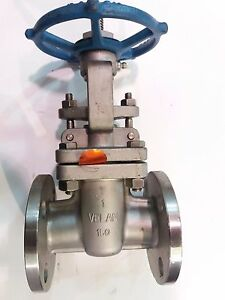Velan Flanged End 316 Stainless Steel 1 Inch Gate Valve Class 150 cf8m