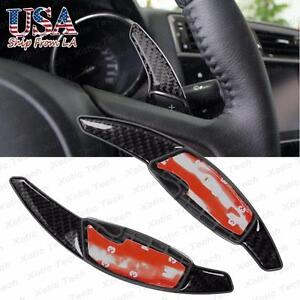 Carbon Fiber Dgs Steering Wheel Shift Gear Paddle Extension Horns Subaru Toyota