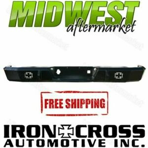 Iron Cross Hd Matte Black Rear Bumper Fits 2010 2017 Dodge Ram 2500 3500