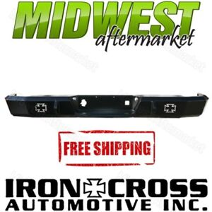 Iron Cross Hd Matte Black Rear Bumper Fits 2009 2016 Dodge Ram 1500