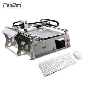 Low Cost Small Pick And Place Machine Vision System Neoden3v std 23 Feeders