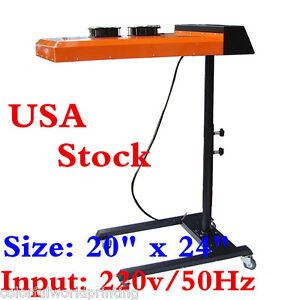 Usa Stock Best 20 X 24 Flash Dryer Double Fan Temperature Controller 220v