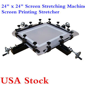 Usa Stock 24 X 24 Manual Screen Print Stretcher Screen Stretching Machine