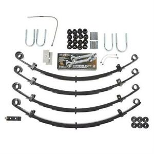 Rubicon Express 2 5 Inch Standard Leaf Spring Lift Kit No Shocks Re5505 Ns