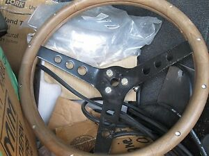 Grant Classic 13 5 Custom Wood Steering Wheel Used Unit