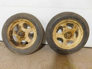 John Deere L Tractor Front 15x4 Rims And Tires L382r 6667