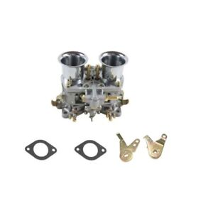 New 48idf Carburetor With Air Horn For Solex Dellorto Weber Empi 48mm