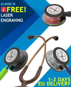 3m Littmann Classic Iii Stethoscopes Free Laser Engraving 1 2 Days Eu Delivery