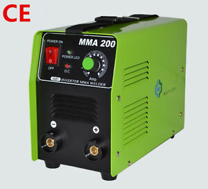 Ce Mma 200 Igbt Dc Inverter Mma Arc Welding Machine Portable 220v Welder