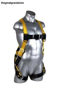 Guardian Fall Protection Body Strap Harness Safety Construction Emergency Huv