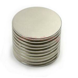 Large 40mm X 2mm Strong Rare Earth Disc N52 Neodymium Magnet 1 57 X 1 12