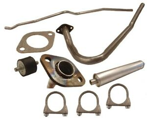 Complete Exhaust Kit Fits Willys 4 Cylinder Jeepster 48 51