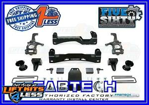 Fabtech K2088 3 5 5 5 Front Dual Performance Shocks For 99 05 Ford F 250 f 350