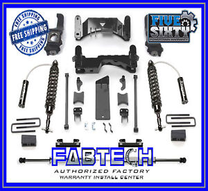 Fabtech K7046dl 6 Performance Sys W Dirt Logic Ss For 07 15 Toyota Tundra 2 4wd
