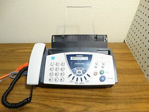 Brother Fax 575 Personal Fax Phone Copier Free Shipping