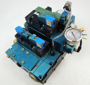 Mac Pneumatic Solenoid 3 Valve Block Bank Mm p2a 231a9