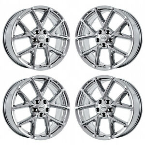 19 Fits Nissan Maxima Pvd Chrome Wheels Rims Factory Oem Set 4 62512 Exchange