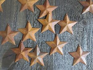 150 Pc Lot Rusty Barn Stars 2 25 Primtive Country Rusted Tin Metal Ships Free
