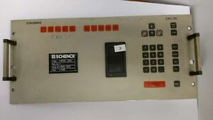 Schenck Cab 750 Measurement Correction System Keyboard Bft750 K000527
