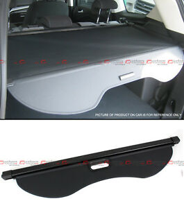 For 2013 18 Ford Escape Tailgate Trunk Retractable Cargo Cover Luggage Shade Blk