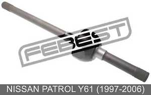 Drive Shaft Front Right 31x618x31 For Nissan Patrol Y61 1997 2006