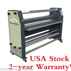 Usa Stock Ving 63 New Full Auto Wide Format Hot Cold Laminator Machine