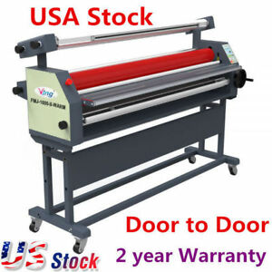 Usa Stock 63 Automatic Wide Format Roll Heat Assist Cold Laminator Laminating