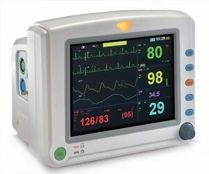 Venni Vi 8080p 8in Multi parameter Patient Monitor