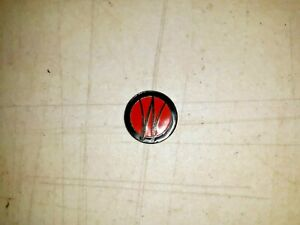 Wo Glue In Emblem Fits Willys Jeep Station Wagon W 3 Wing Hood Ornament 53 63