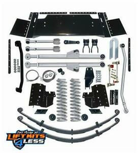 Rubicon Re6307 7 5 Extreme Duty Long Arm Lift Kit For 83 01 Jeep Cherokee Xj