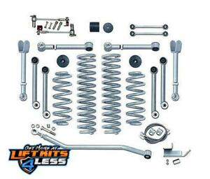 Rubicon Express 4 5 In Short Arm Lift Kit 07 17 Jeep Wrangler Jk 2 Door Re7124
