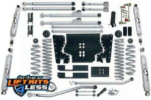 Rubicon Express 4 5 In Lift Kit R Bar T Shks 97 06 Jeep Wrangler Tj Re7204t
