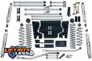Rubicon Re7213t 3 5 Ed Long Arm Lift Kit With Twin Tube Shock For 97 06 Jeep Tj