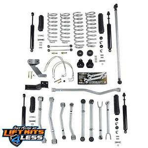 Rubicon Express Susp Lift Kit W Shocks 2007 17 Jeep Wrangler Jk 2 Dr Re7128t